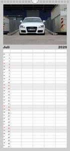 Modellreihen der 4 Ringe - Familienplaner hoch (Wandkalender 202