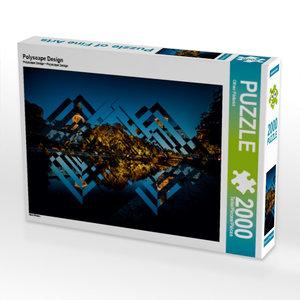 Polyscape Design 2000 Teile Puzzle quer