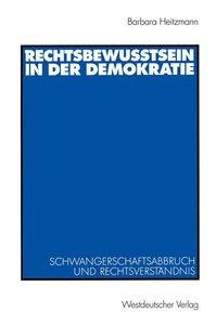 Rechtsbewusstsein in der Demokratie