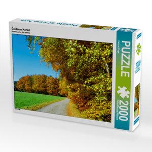CALVENDO Puzzle Goldener Herbst 2000 Teile Lege-Größe 90 x 67 cm