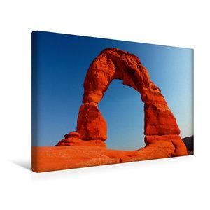 Premium Textil-Leinwand 45 cm x 30 cm quer Delicate Arch, Arches