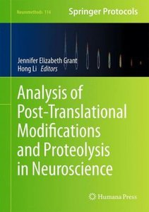 Analysis of Post-Translational Modifications and Proteolysis in