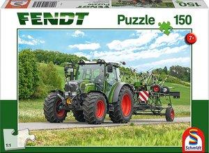 Fendt, Fendt 211 Vario mit Fendt Wender Twister (Kinderpuzzle)