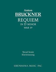 Requiem in D minor, WAB 39 - Vocal score