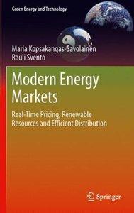 Modern Energy Markets