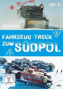 Fahrzeugtreck zum Südpol, DVD