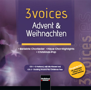 3 voices Advent & Weihnachten, Doppel-CD