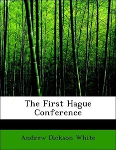 The First Hague Conference
