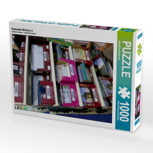 Kalender Mickey 4 1000 Teile Puzzle quer