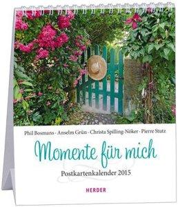 Momente für mich 2015 Postkartenkalender