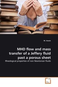 MHD flow and mass transfer of a Jeffery fluid past a porous shee