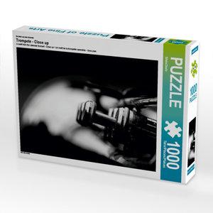 CALVENDO Puzzle Trompete - Close up 1000 Teile Lege-Größe 64 x 4