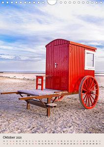 Borkum Strandspaziergang (Wandkalender 2020 DIN A4 hoch)