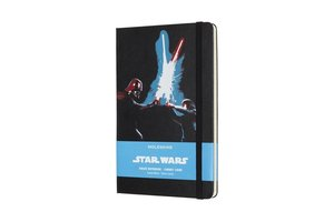 Moleskine Notizbuch - Star Wars, L/A5, Liniert, Hard Cover, Lase