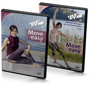 TELE-GYM 46+47 Move easy 2-er Package Level 1+2