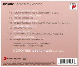 Brigitte Klassik zum Genießen: Dorothee Oberlinger
