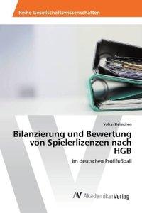 Bilanzierung und Bewertung von Spielerlizenzen nach HGB