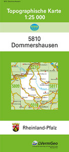 Dommershausen 1 : 25 000