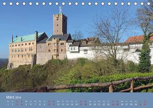 Die Wartburg - Weltkulturerbe im Herzen Deutschlands (Tischkalen