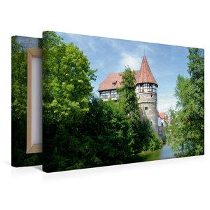 Premium Textil-Leinwand 45 cm x 30 cm quer Zollernschloss Baling