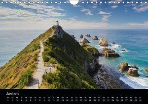 Traumziel Neuseeland 2019 (Wandkalender 2019 DIN A4 quer)