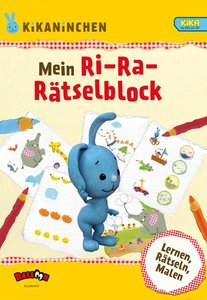 KiKANiNCHEN - Mein Ri-Ra-Rätselblock