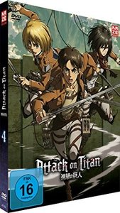 Attack on Titan - DVD 4