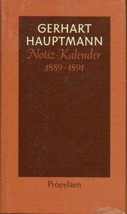 Notiz - Kalender 1889 bis 1891