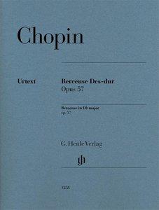 Berceuse Des-dur op. 57 für Klavier zu zwei Händen. Revidierte A