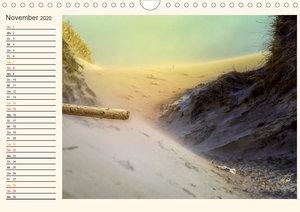 Nordsee-Dünen - Geburtstagskalender (Wandkalender 2020 DIN A4 qu