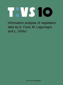 Information analysis of vegetation data
