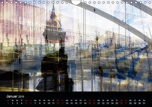 Hamburg-Art (Wandkalender 2019 DIN A4 quer)