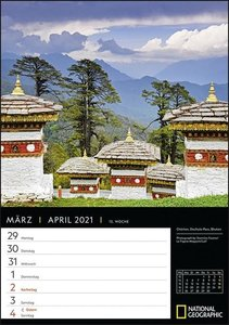 Best of National Geographic Kalender 2021