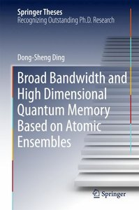 Broad bandwidth and high dimensional quantum memory based on ato
