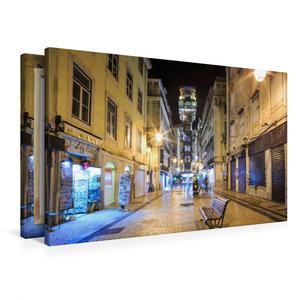 Premium Textil-Leinwand 90 cm x 60 cm quer Elevador de Santa Jus