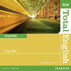 New Total English Starter Class Audio CDs