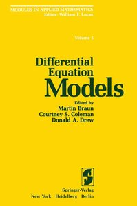 Differential Equation Models