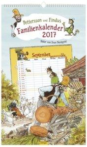 Pettersson & Findus Familienkalender 2017