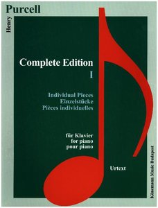 Purcell, Complete Edition I Individual Pieces