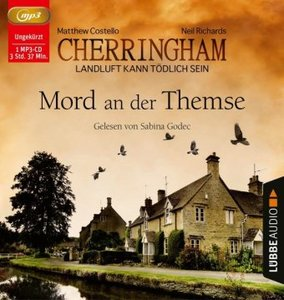 Cherringham - Mord an der Themse, 1 Audio-CD, MP3 Format