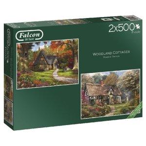 Woodland Cottages (Puzzle)