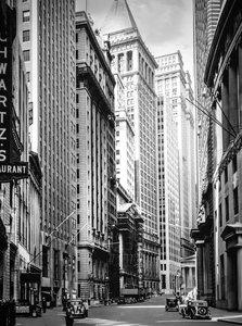 CALVENDO Puzzle Broad Street looking toward Wall Street, Manhatt