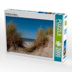 Am Strand von Buren 2000 Teile Puzzle quer