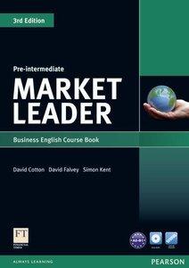 Market Leader. Pre-Intermediate Coursebook (with DVD-ROM incl. C