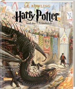 Harry Potter und der Feuerkelch (farbig illustrierte Schmuckausg