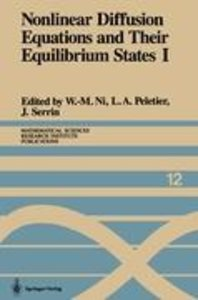 Nonlinear Diffusion Equations and Their Equilibrium States I
