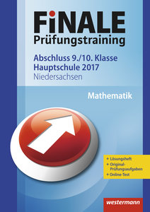Finale - Prüfungstraining Abschluss 9./10. Klasse Hauptschule Ni