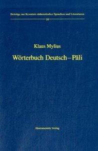 Wörterbuch Deutsch-Pali