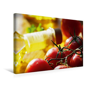 Premium Textil-Leinwand 45 cm x 30 cm quer Tomaten mit feinstem