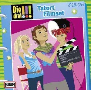 Die drei !!! 26. Tatort Filmset (drei Ausrufezeichen)
